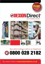 2009 Dexion Direct catalogue - order yours now